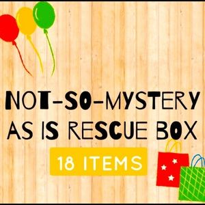 Rescue Box 18 As- Is Items Slight-Major Damage